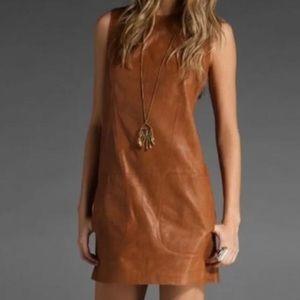 Amazing leather Vince dress